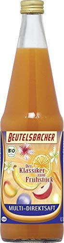 Beutelsbacher Bio Multi-Direktsaft, Der Klassiker zum Frühstück (6 x 700 ml)