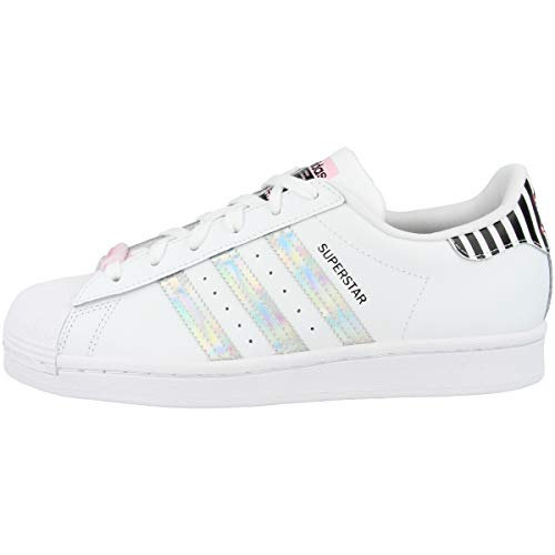 adidas Superstar W, Zapatillas Deportivas Mujer, FTWR White True Pink Core Black, 38 EU