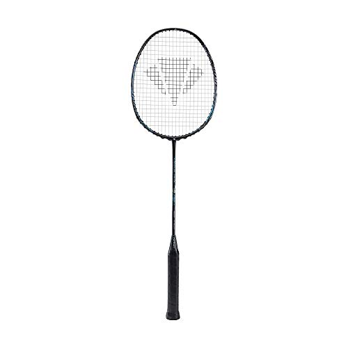 Carlton Vapour Trail 73S Badminton Racket, Black/Blue