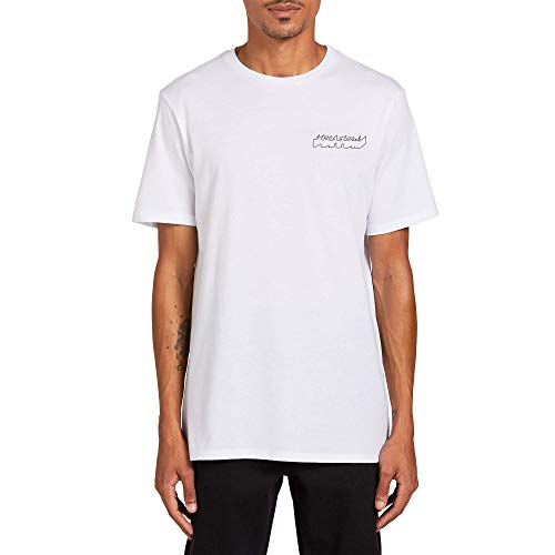 Volcom Men's Automate Short Sleeve Tee White