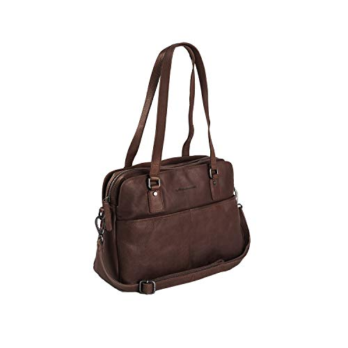 The Chesterfield Brand Barcelona Schultertasche Leder 34 cm