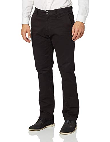 Volcom Men's Frickin Slim Chino Pant, Black, 32