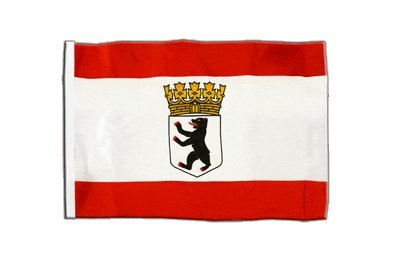 Flaggenfritze® Flagge Deutschland Berlin mit Krone - 30 x 45 cm