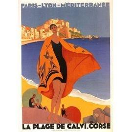 Systeemkaart, 50 x 70 cm, Corsica