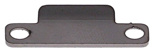 Eureka houder voor koffiemolen MYTHOS-220-EUREKA breedte 10 mm lengte 27 mm gatafstand 21,5 mm 3,5 mm CNS gatgrootte 3,5 mm