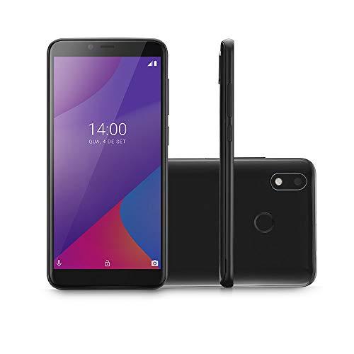 Smartphone Multilaser G Max 4G 32GB Tela 6.0 Pol. Octa Core Android 9.0 GO Preto - P9107