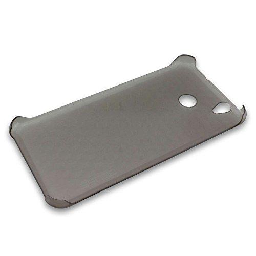 caseroxx Backcover für Oukitel U7 Plus, Tasche (Backcover in schwarz-transparent)