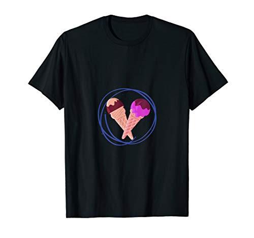 Eis | Waffeleis | Eiscreme | Eisdiele T-Shirt