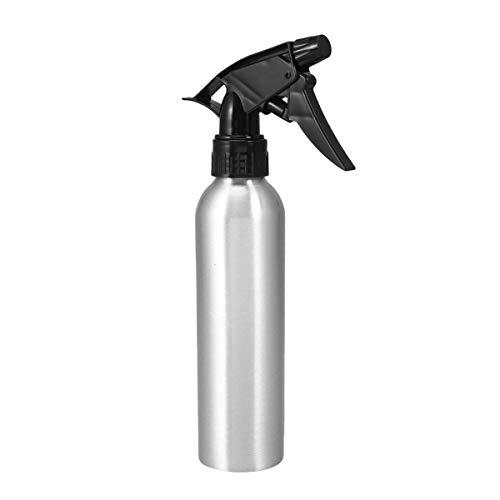 Healifty pulvérisateur en aluminium pulvérisateur pompe bouteille eau vide atomiseur fine brume pour coiffure tatouage jardinage (argent)
