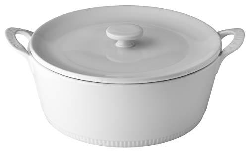 PILLIVUYT Cocotte, Porcelaine, 160 mm