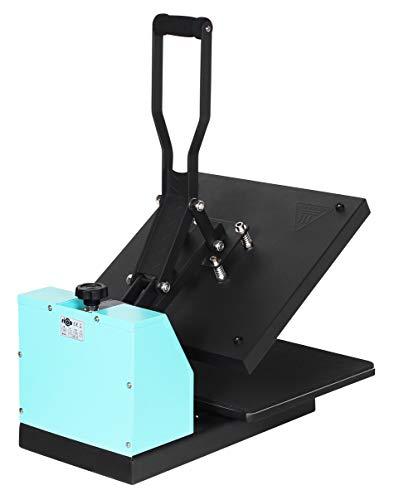 Transferdruck Textil Thermopresse Textildruckpresse T438-TB Farbe:Türkisblau - 8