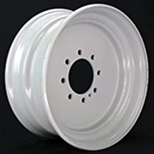 17.5x6.75 Commercial Truck/Trailer Wheel 5000 lb Capacity 8x6.50 (FLANGE NUT REQUIRED: 5/8