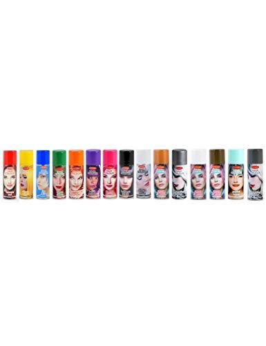 Spray de color para el cabello - Plateado