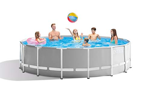 Intex Round Prism Frame Pool Set | 15ft x 48