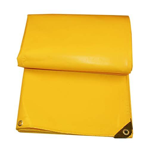 Fanjiani Regendichte doek, waterdichte doek, poncho, dik, gouden zeildoek, linoleum-zeildoek, zeer sterk zeildoek, stof-zonweringsdoek