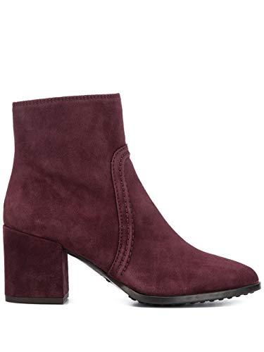 Luxury Fashion | Tod's Dames XXW83B0BO70BYEL822 Bordeaux Suôde Enkellaarzen | Herfst-winter 19