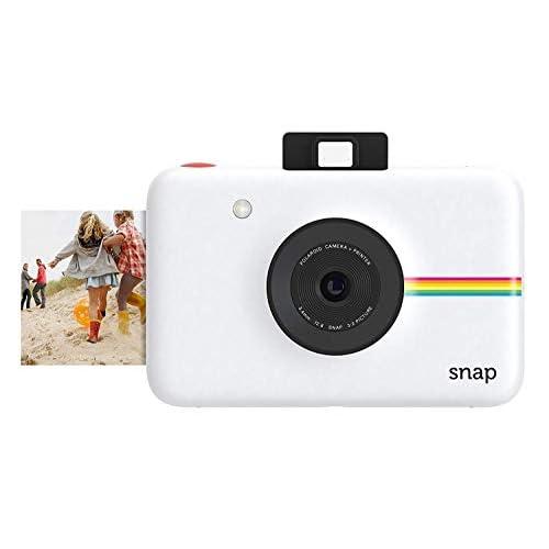 Polaroid Fotocamera Digitale a Scatto Istantaneo con Tecnologia Di Stampa a Zero Inchiostro Zink, Bianco
