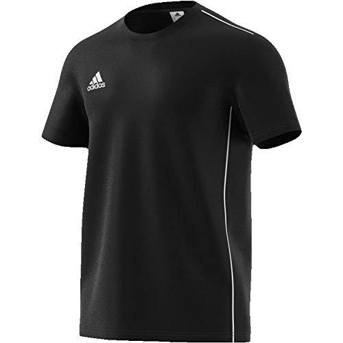 adidas Herren T-Shirt CORE18 Tee, Negro/Blanco, 3XL, CE9063