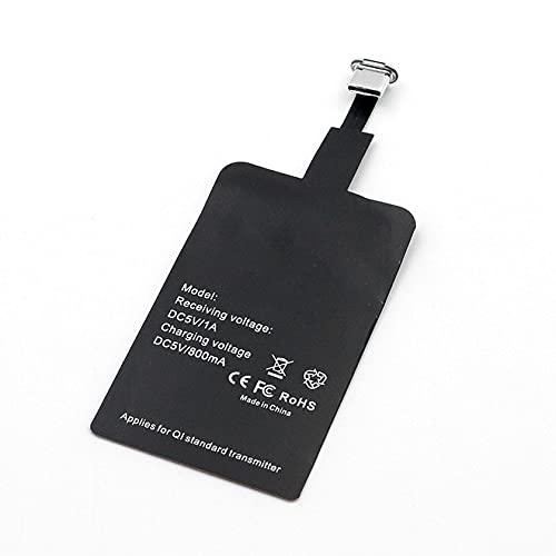 Zhou-YuXiang Adaptador de Cargador inalámbrico Receptor inalámbrico Puerto Principal de Android Puerto inverso de Android Puerto Tipo C iPhone