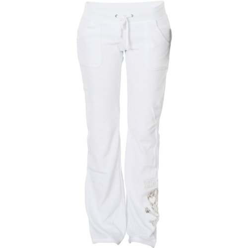 Sinful Shiloh Fashion Track Pants by Affliction White