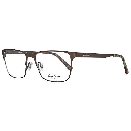 Pepe Jeans Brillengestelle P1205 C2 Dewey Monturas de gafas, Marrón (Braun), 53.0 Unisex Adulto