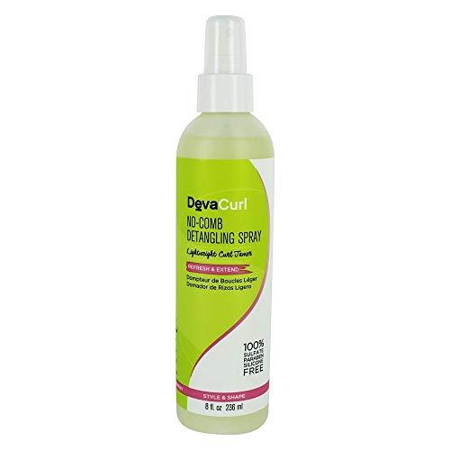 DevaCurl No-Comb Detangling Spray - Spray démêlant