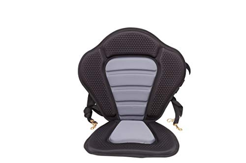 BKC PS276 Deluxe Memory Foam Kayak Seat for Upgraded Comfort and Support