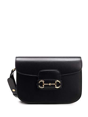 Gucci Luxury Fashion Donna 6022041DB0G1000 Nero Borsa A Spalla | Stagione Permanente
