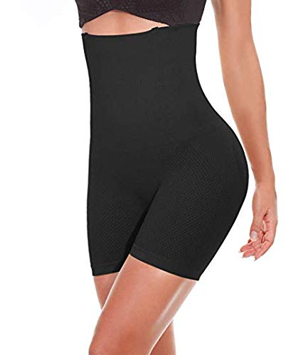 SEXYWG Culotte Gainante Femme Gaine Amincissante Ventre Plat Culotte Sculptante Taille Haute Invisible Panty Gainant Grande Taille, Noir, Small-FBA