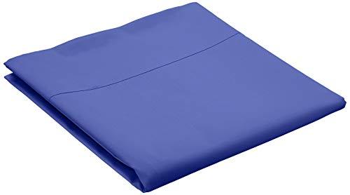 Amazon Basics Everyday - Sábana encimera (100% algodón), 180 x 260 cm - Azul marino
