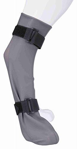 TRIXIE Calcetines Protectores, Silicona, XL, 12 cm/45 cm, Gris, Perro
