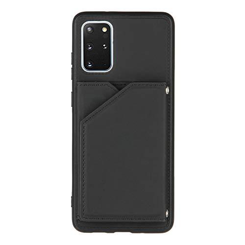 Schutzhülle für Samsung Galaxy S20 Plus (6,7 Zoll), Kreditkartenfächer, Schwarz