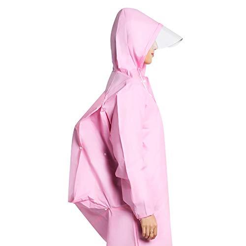 Goldenla regenjas voor dames en heren M PINK