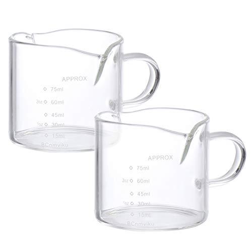 Hemoton Vaso Medidor de Café de 2 Piezas Taza de Café Profesional...