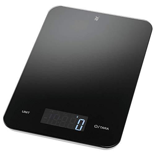 WMF Digitale Küchenwaage Backwaage Haushaltswaage schwarz grammgenau hohe Präzision 5kg Maximalgewicht