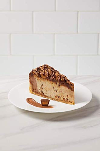 """The Cheesecake Factory 10"""" Reeses Peanut Butter Cheesecake 80 ounce (Pack of 2)"""