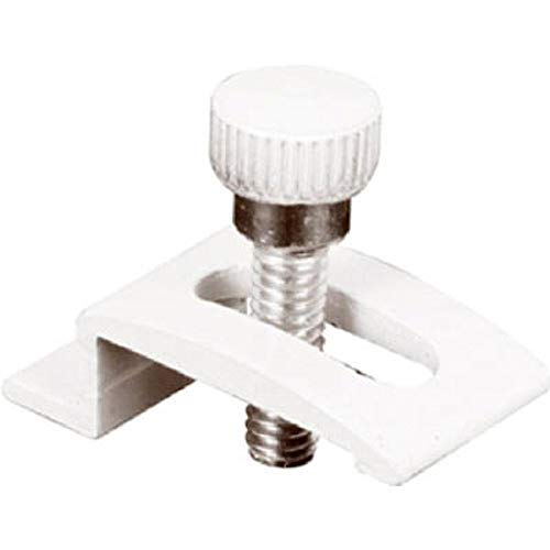 Prime-Line Products PL 7940 Storm Door Panel Clips with Screws (Pack of 8), 1/4