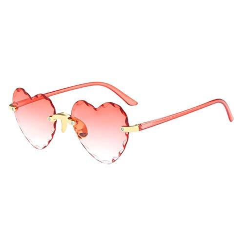 Samore Gafas de sol para mujer 2021, unisex, lentes multicolor, retro, moda con forma de corazón, mariposa, redondas, cuadradas, ojos de gato, burdeos, Talla única