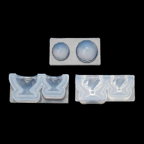 KY-BORED Echte Kleine 3D Glasbecher Tasse Silikon Harzform Set DIY Harz Kunst Handwerk Werkzeuge