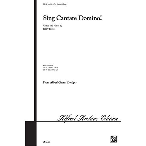 Sing Cantate Domino! - Choir - PART