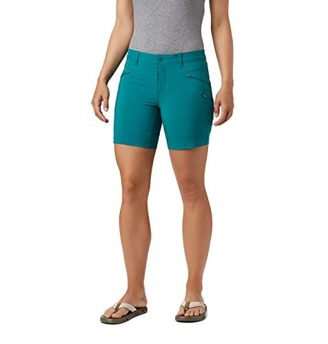Columbia Damen Wandershorts Peak to Point, Türkis (Waterfall), W16/L6