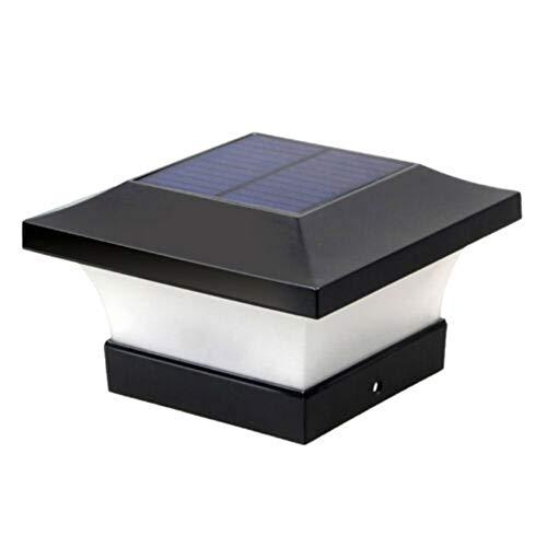 Deusa Solar Wasserdicht LED Pfosten Kappe Lichter, Outdoor Säulen Scheinwerfer Säulen Zaun Lampe Weißes Licht
