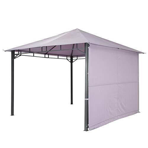tepro Pavillon Lavendel LEHUA 330x330x285 cm Garten Camping Terrasse 5510