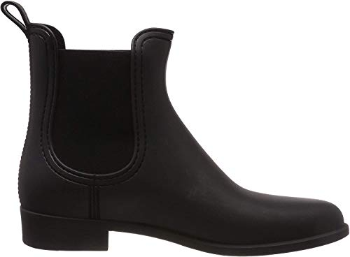 Lemon Jelly Damen Splash Chelsea Boots, Schwarz (Black Mate 01), 38 EU