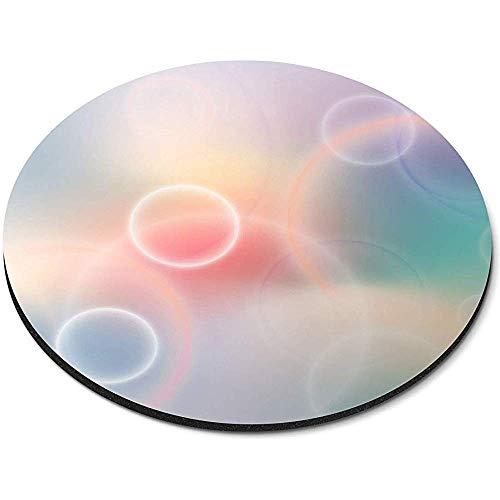 Ronde muismat - Mooie kleurrijke bollen Cool Office Gift