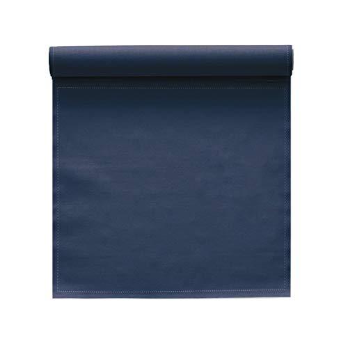 Serviette de table en coton 20x20cm - Idéale pour fête, anniversaire, cocktail - Rouleau de 25 serviettes - Bleu Pétrole