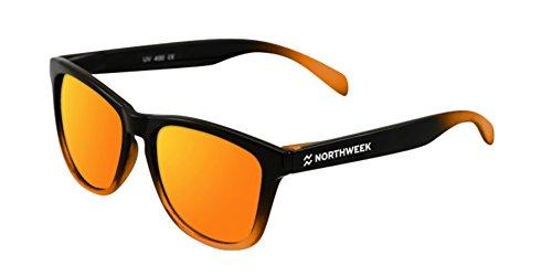 NORTHWEEK Gafas de sol Gradiant black and Orange | lente orange polarizada