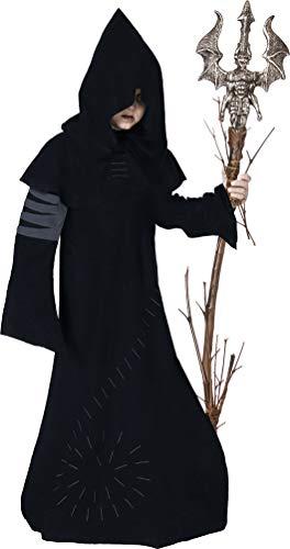Karneval-Klamotten Kostüm Warlock Junge Halloween Horror Zauberer Magier Hexenmeister gruseliges Kinderkostüm