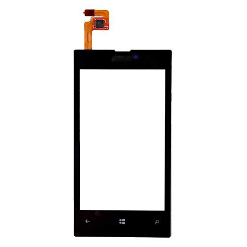 Touch Screen Digitizer Glass for Nokia Lumia with Frame - 520 (Only Touch Black Color)