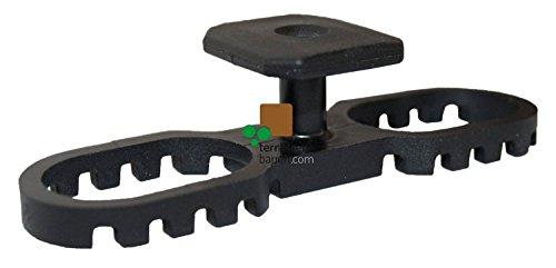 KARLE & RUBNER, schwarz 7120 K&R Terraflex N6 mit Bohrschraube C1, 5x35mm für Aluminium-Unterkonstruktion Inhalt: 120 Stück
